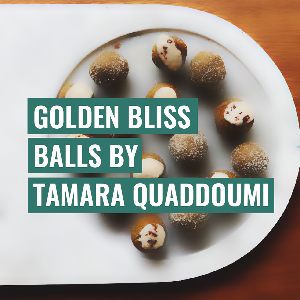Golden Bliss Ball by Tamara Quaddoumi