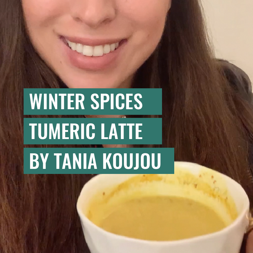 Winter Spices Tumeric Latte By Tania Koujou