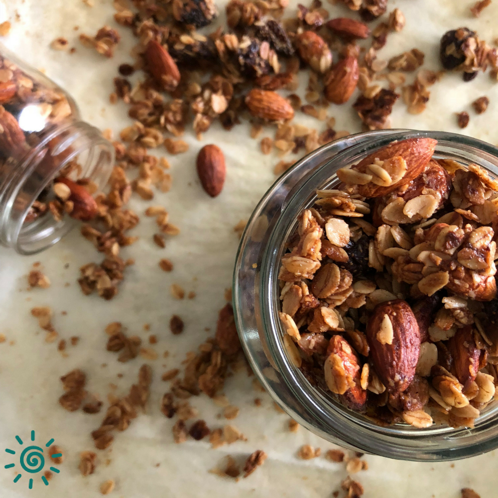 Strawberry Almond Granola Recipe