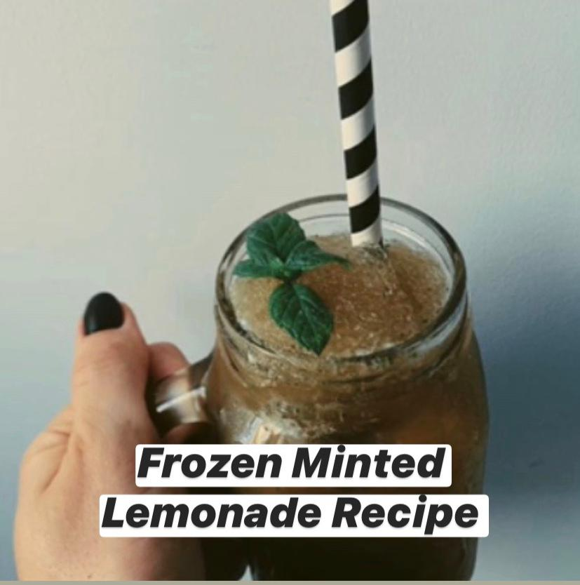 Frozen Minted Lemonade Recipe