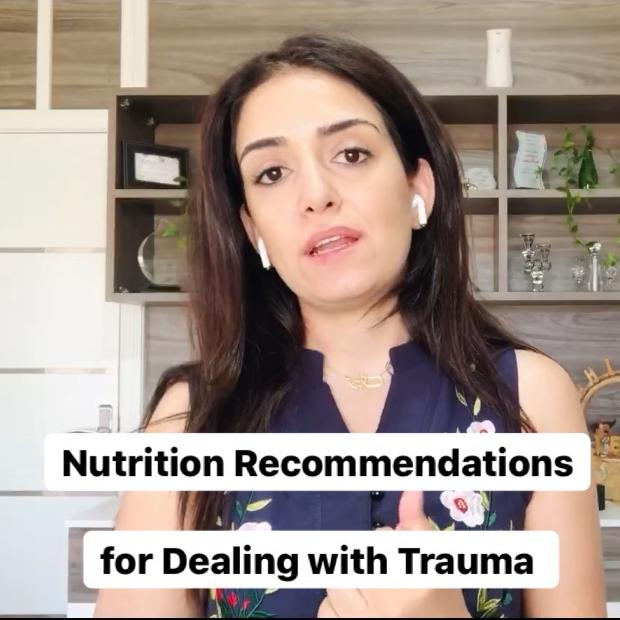 Nutrition Recommendations for Dealing with Trauma