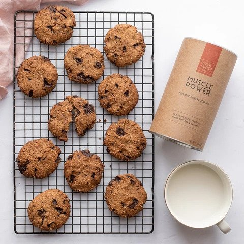 Vegan Chocolate Chip Cookies - Gluten Free