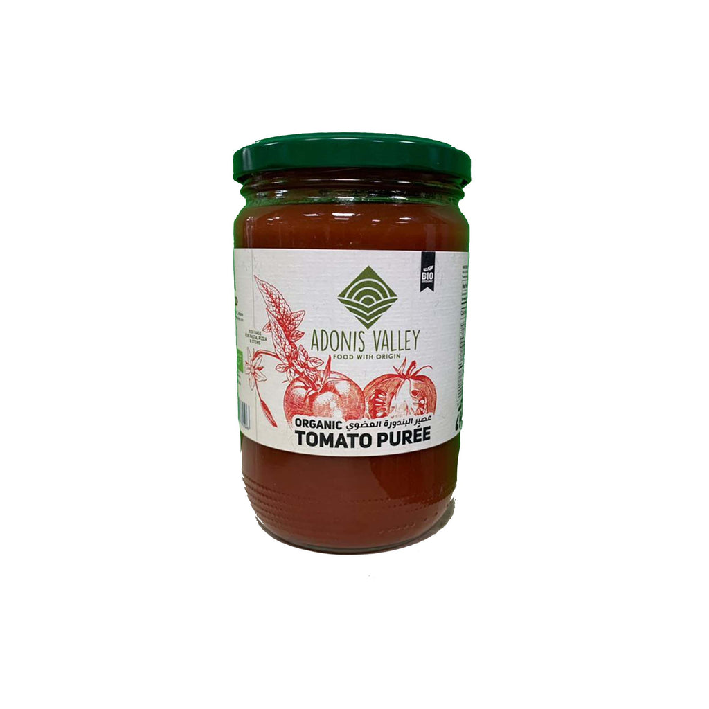 Adonis Valley Organic Tomato Puree