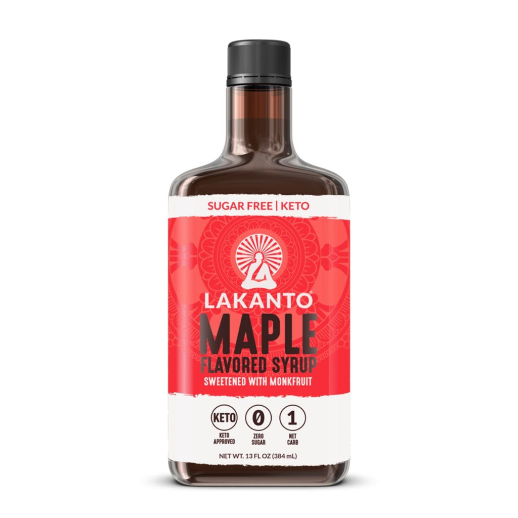 Lakanto Sugar-Free Maple Syrup from Monk Fruit Sweetener