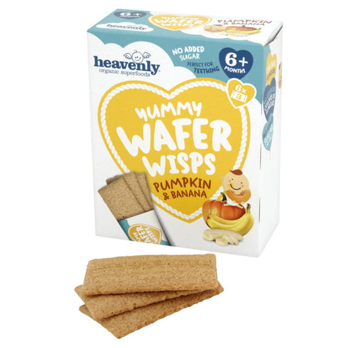 Heavenly Yummy Wafer Wisps - Pumpkin & Banana