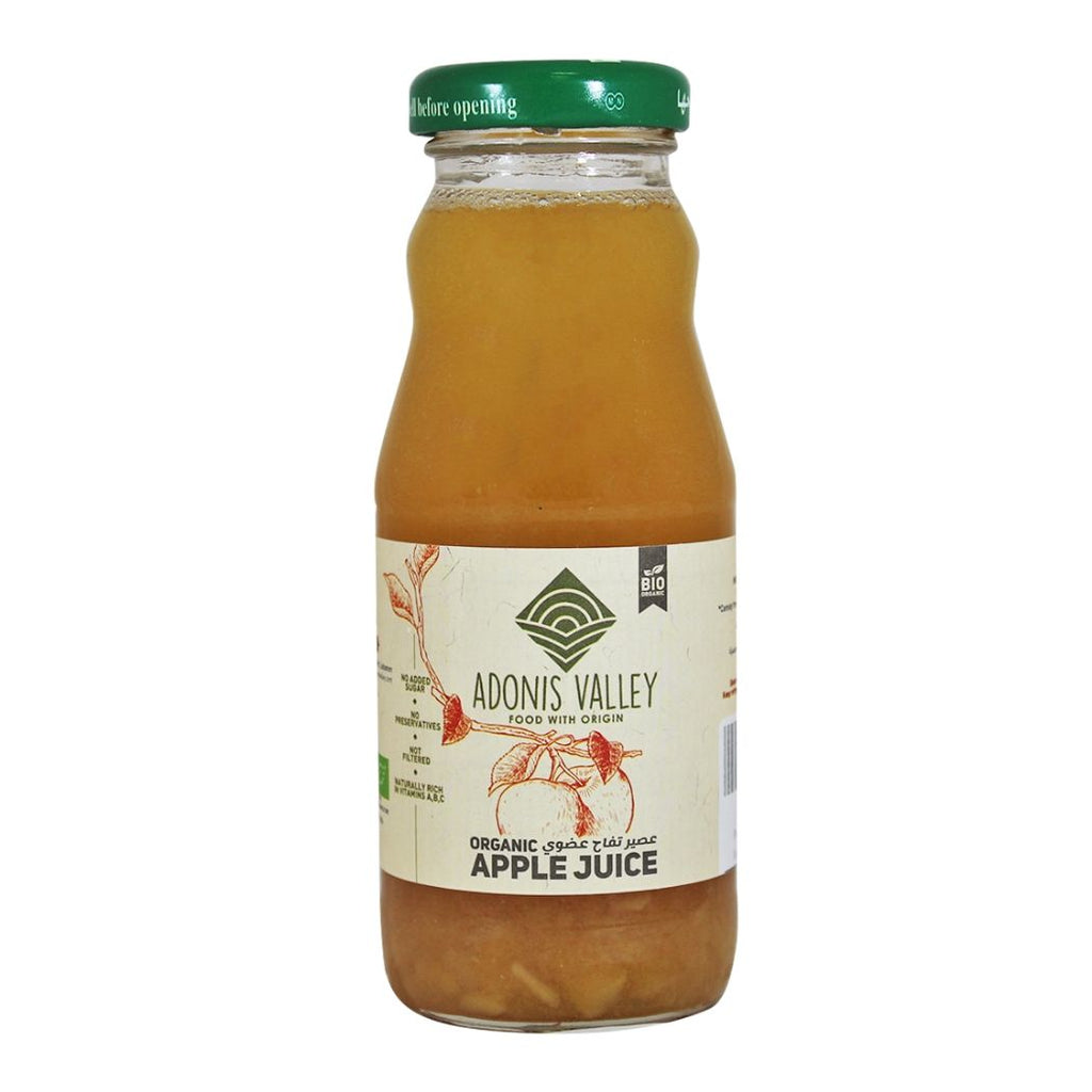 Adonis Valley Organic Apple Juice