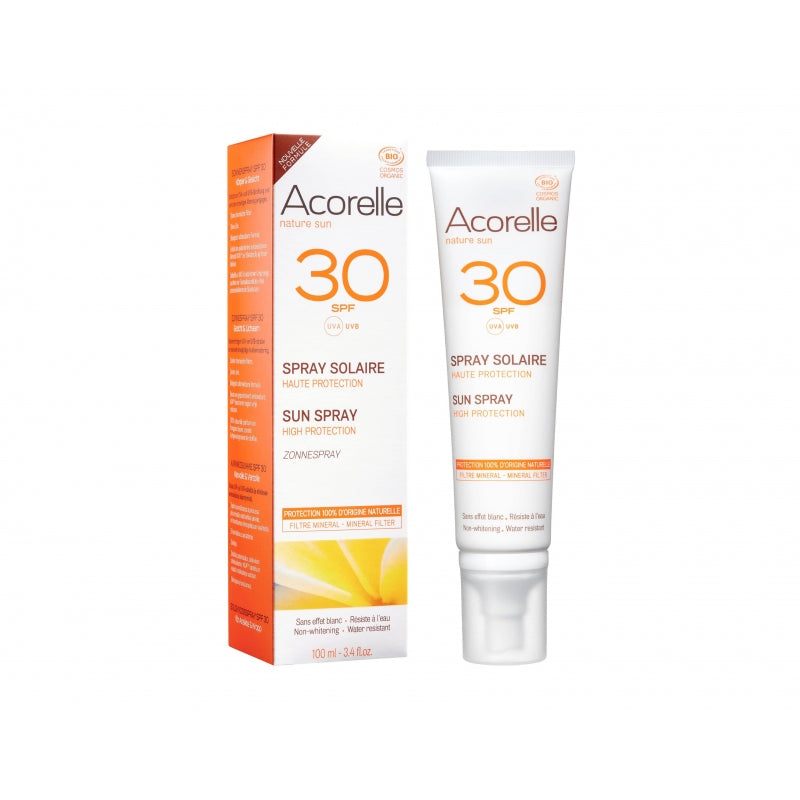 Acorelle Organic Certified Sunscreen Spray SPF30