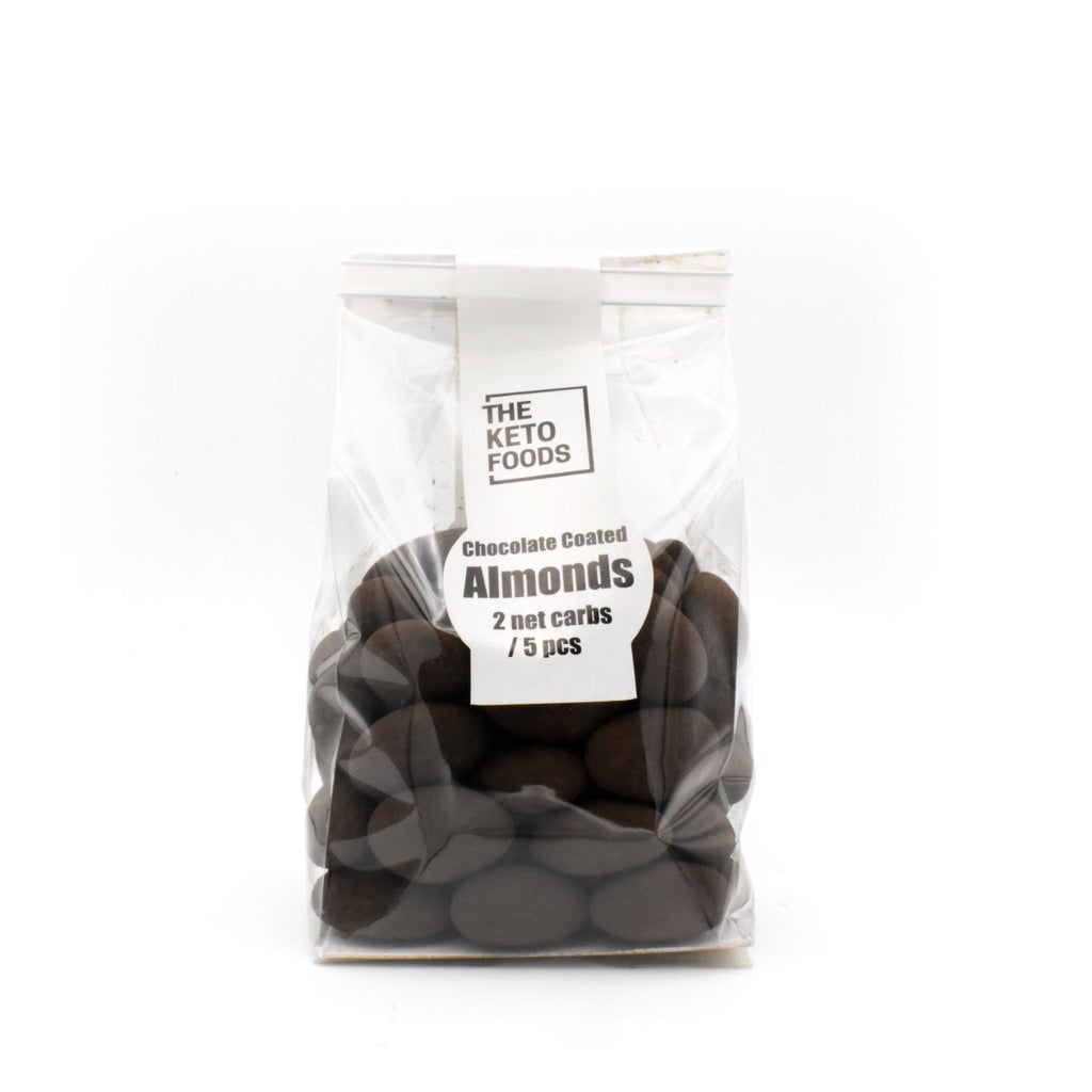 The Keto Foods Chocolate Coated Almonds