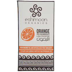 Eshmoon Orange Peel in Chocolate Bar