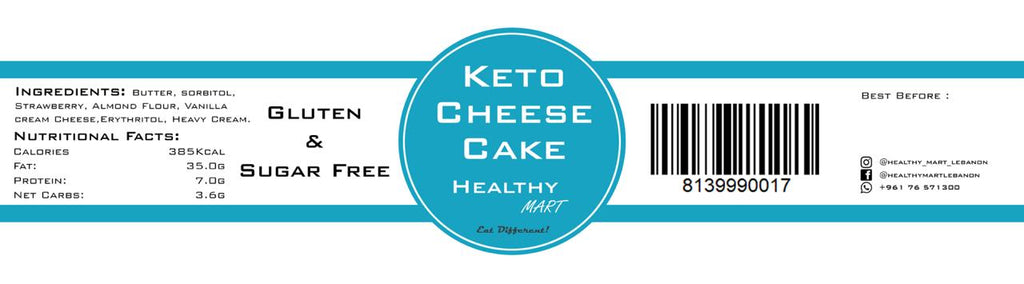 Healthy Mart Keto Cheesecake