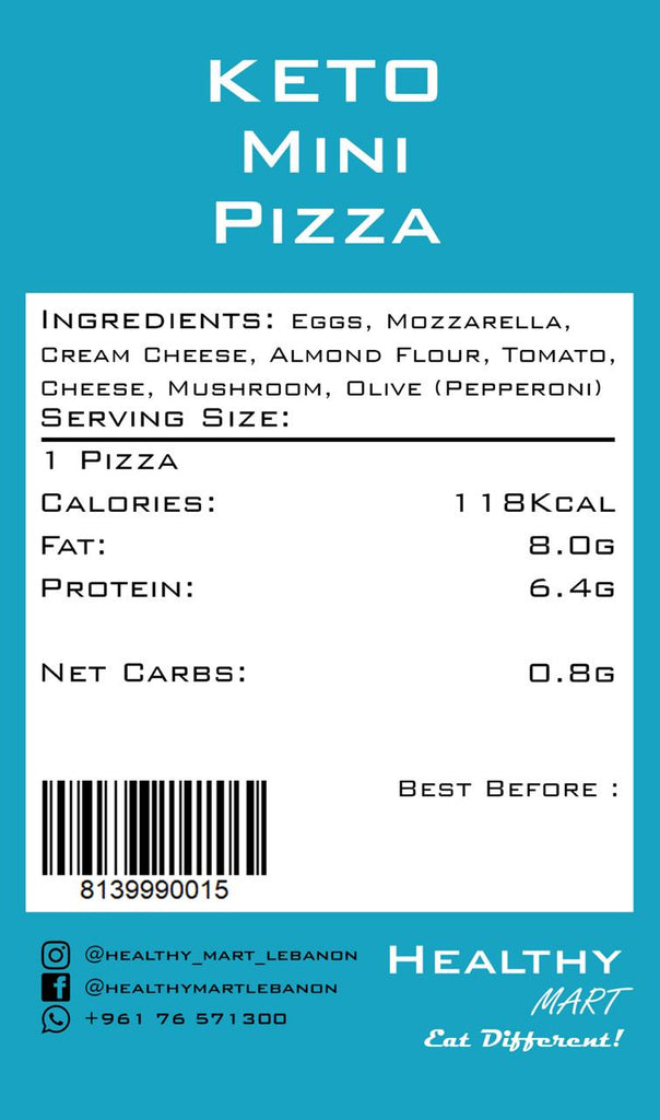 Healthy Mart Keto Mini Pizza