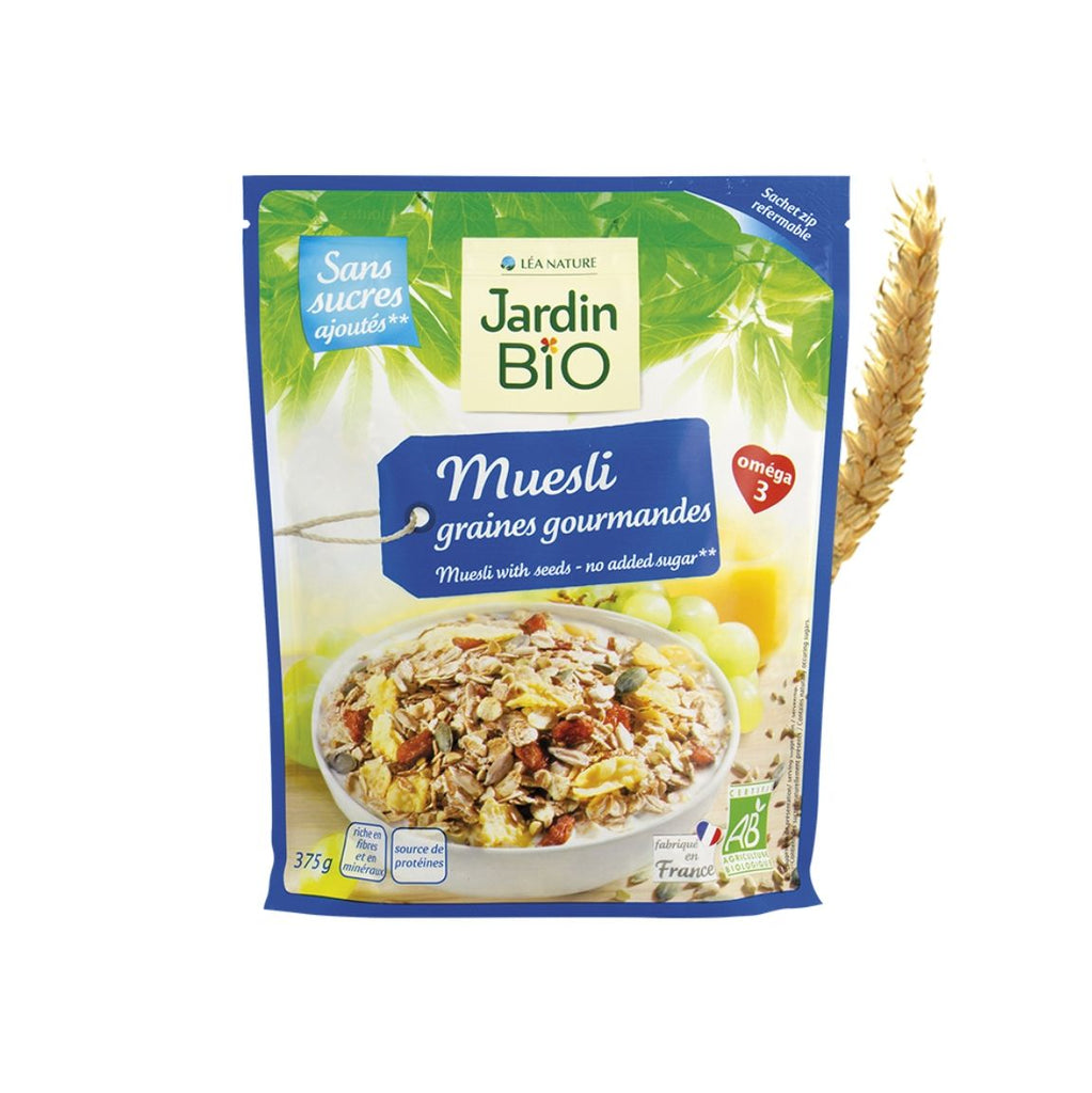 Jardin Bio Muesli with Gourmet Seeds