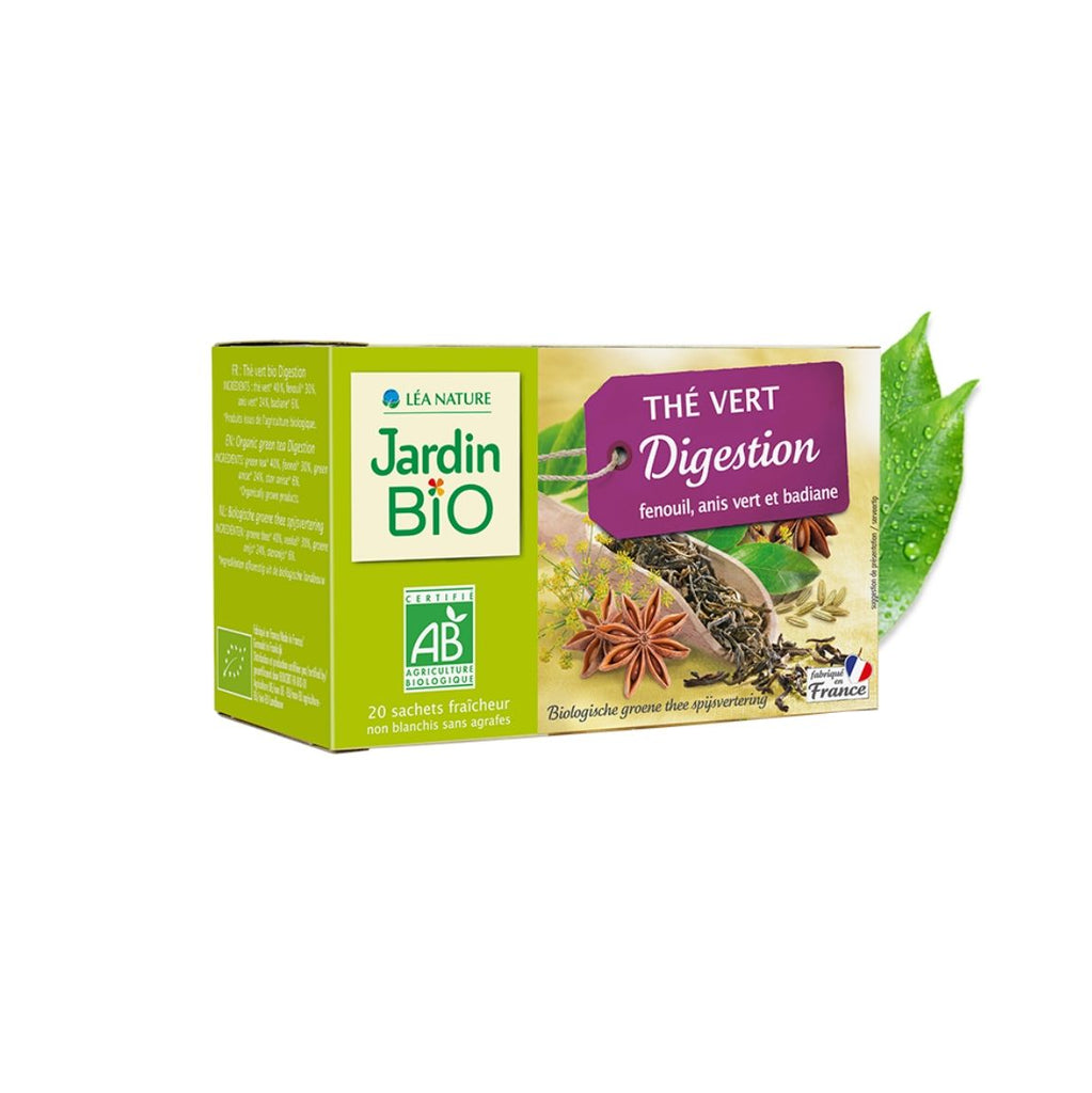 Jardin Bio Green Tea Digestion (Fennel, Green Anise, Star Anise) (1943783112767)