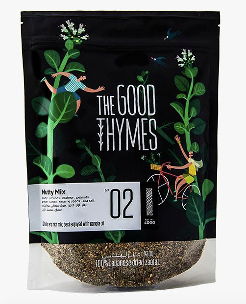 The Good Thymes Nutty Mix