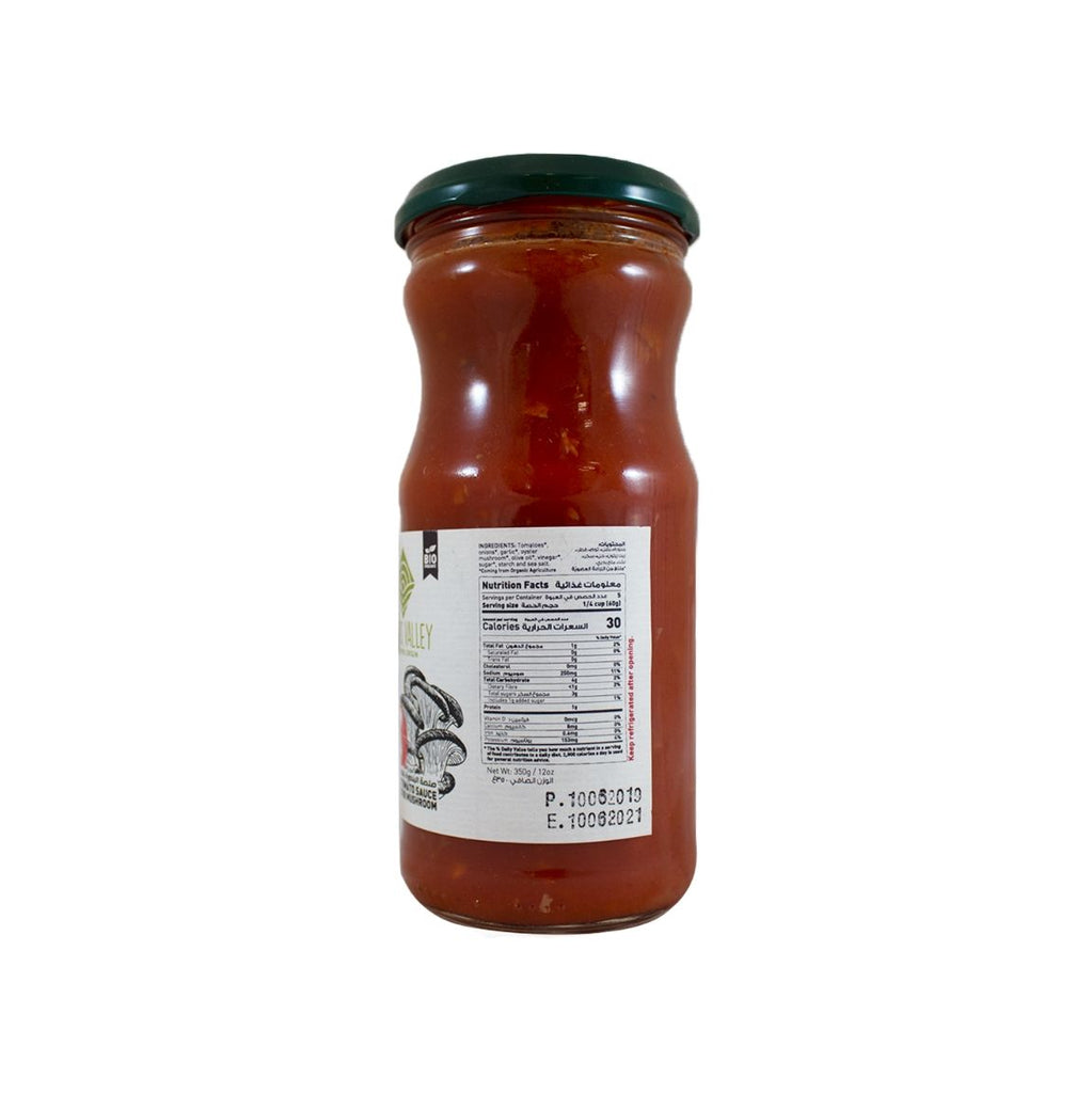 Adonis Valley Organic Tomato Sauce with Oyster Mushroom