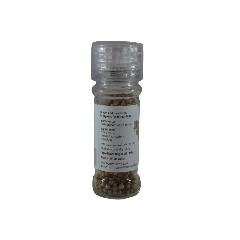 Biopret Organic Whole White Pepper (1806708015167)