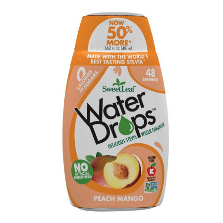 SweetLeaf Water Drops Peach Mango (4251202355263)