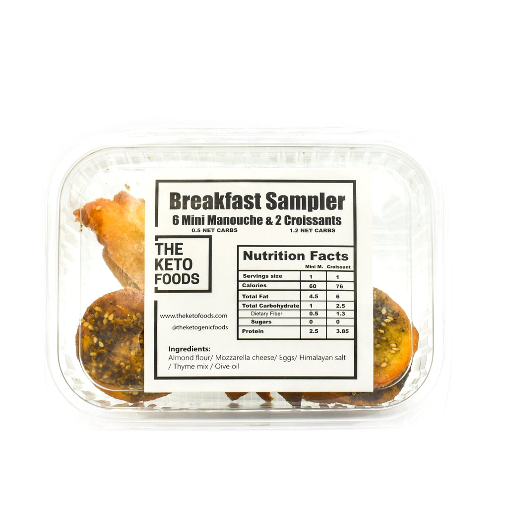 The Keto Foods Breakfast Sampler