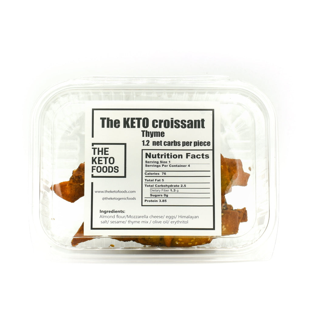 The Keto Foods Keto Croissant - Thyme