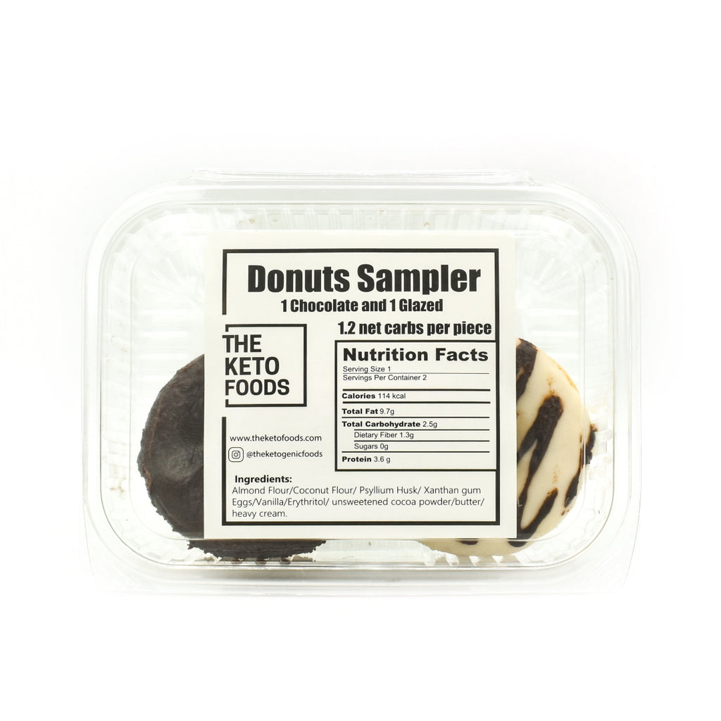 The Keto Foods Donuts Sampler