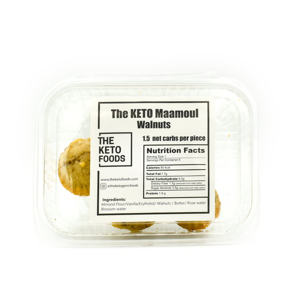 The Keto Foods Keto Maamoul - Walnuts