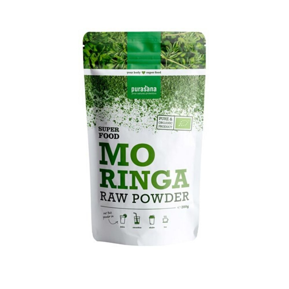 Purasana Organic Moringa Raw Powder