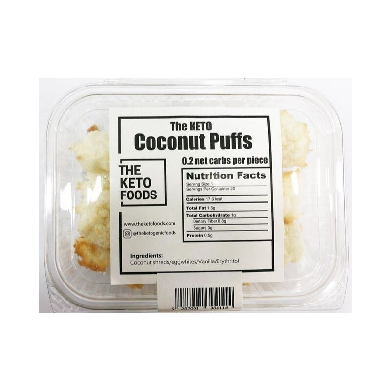 The Keto Foods Coconut Puffs (4167716667455)