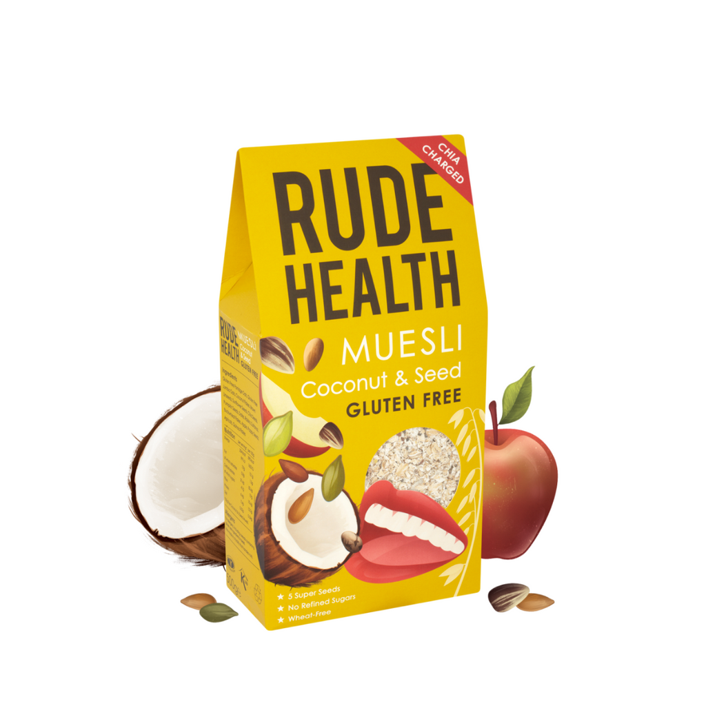 Rude Health Gluten Free Coconut and Seed Muesli