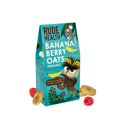 Rude Health Banana Berry Oats