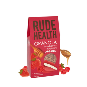 Rude Health Strawberry & Raspberry Granola
