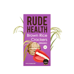 Rude Health Brown Rice Crackers
