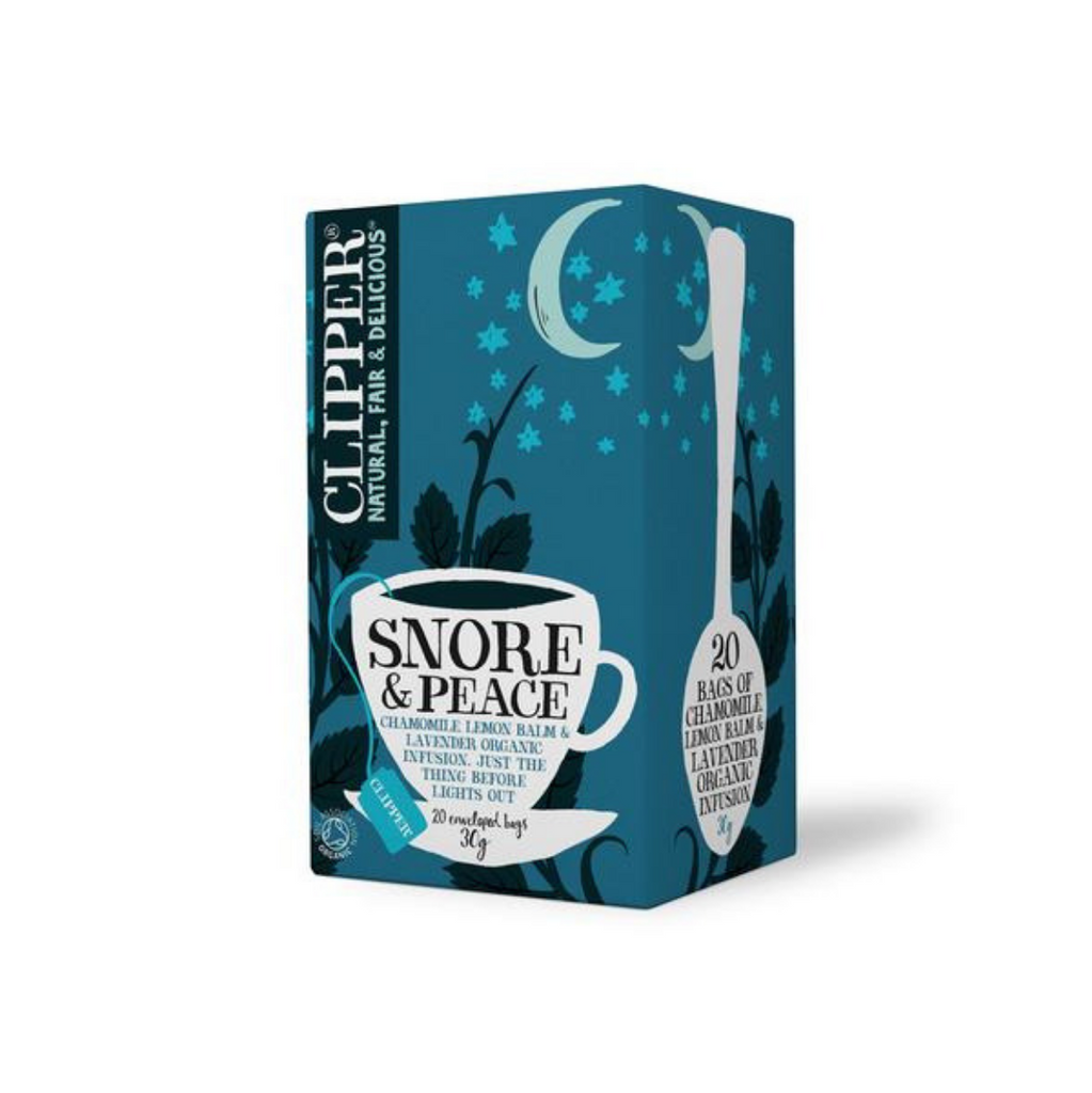 Clipper Organic Snore and Peace Tea