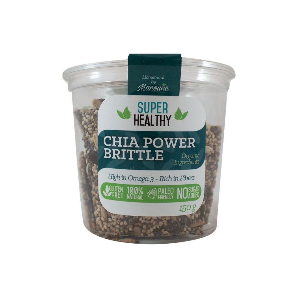 Super Healthy Homemade - Chia Power Brittle (230269190157)