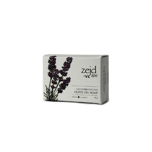 Zejd Lavender Infused Olive Oil Soap