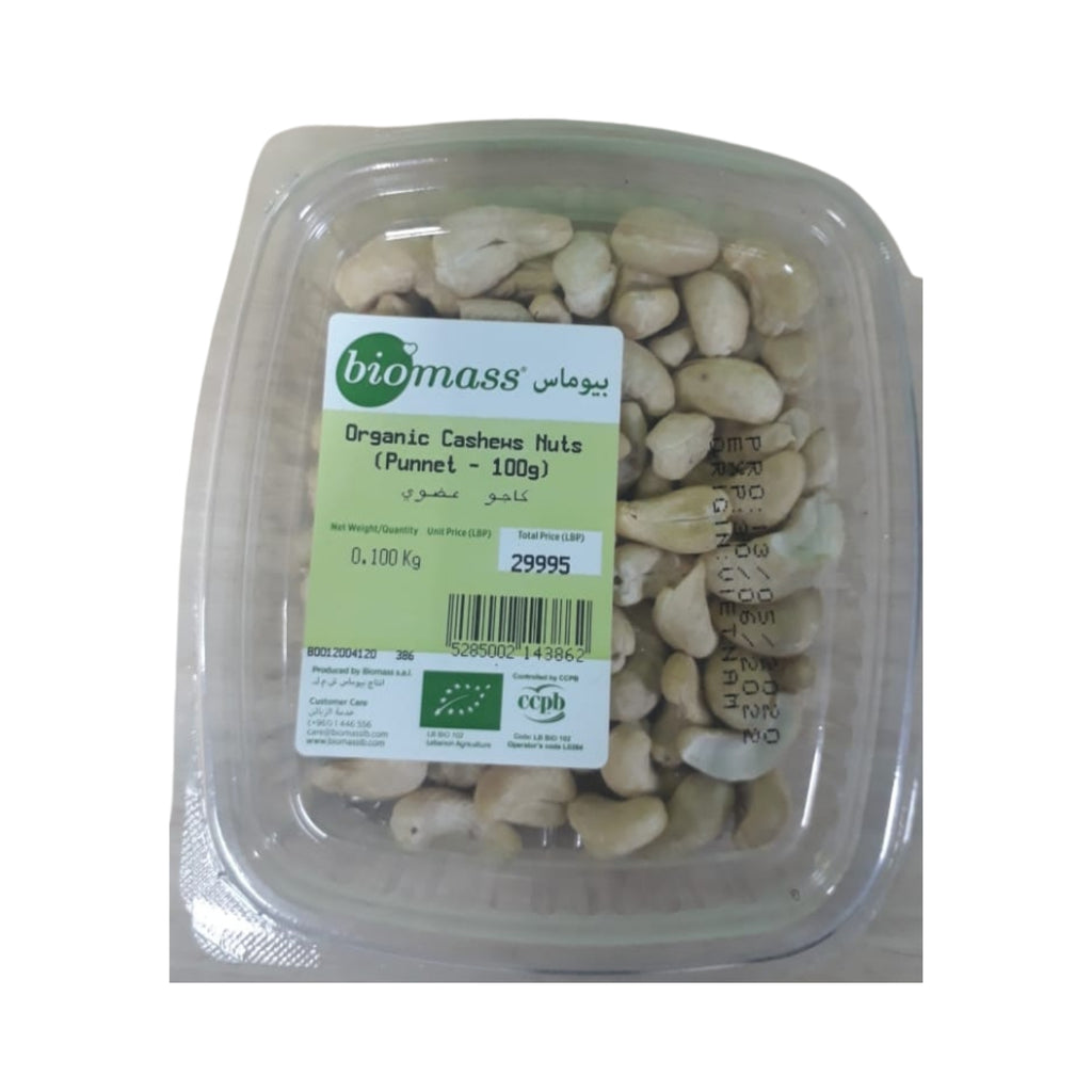 Biomass Organic Cashews
