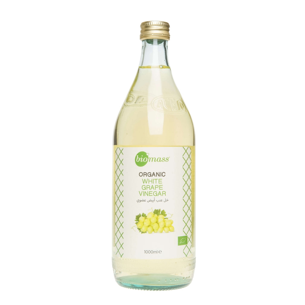 Biomass Organic White Grape Vinegar