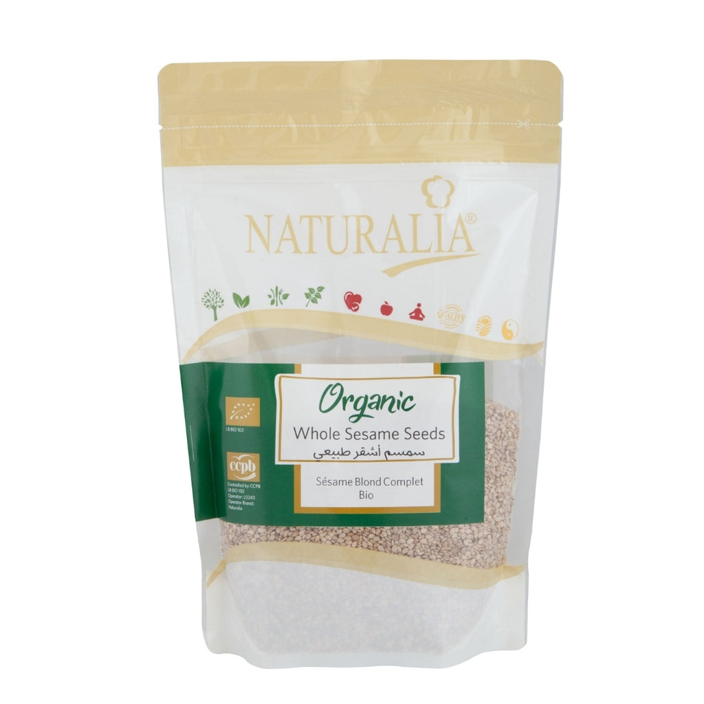 Naturalia Organic Whole Sesame Seeds