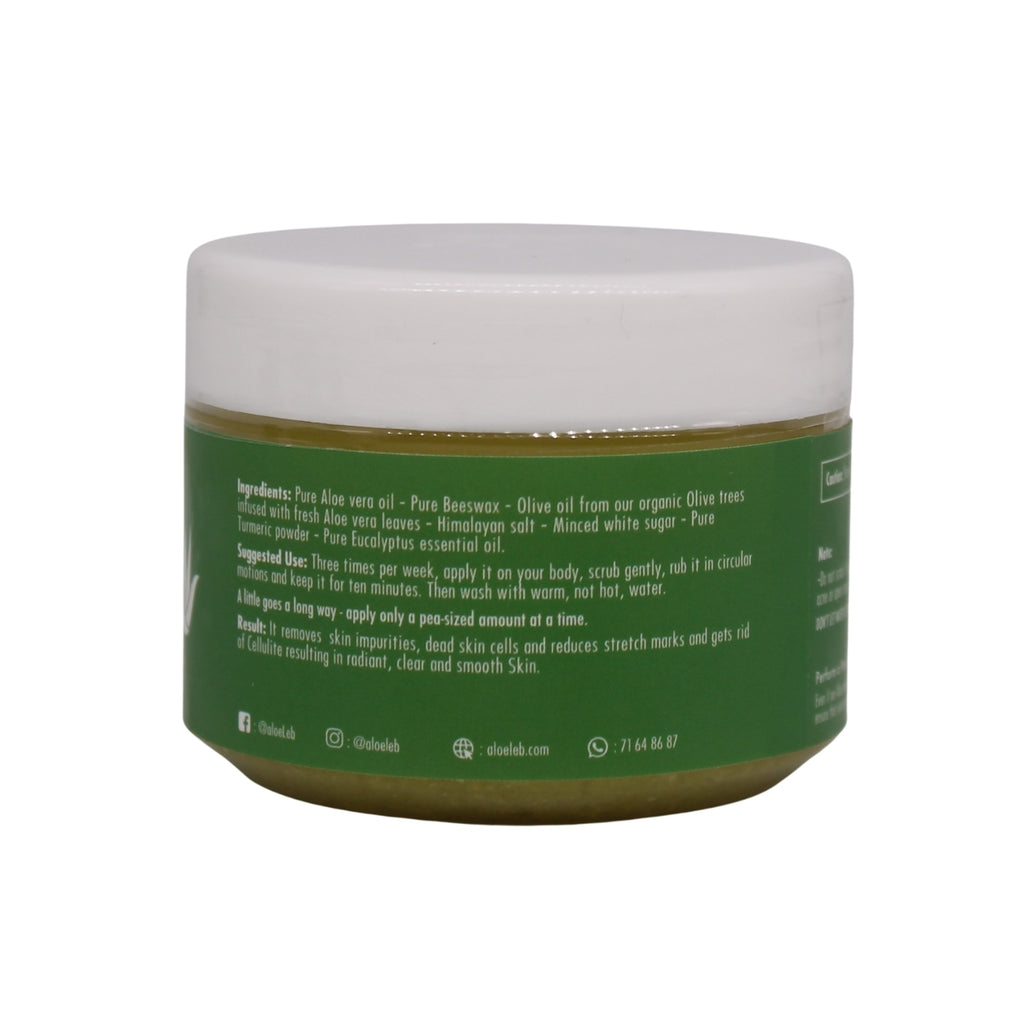 Aloeleb Smooth Skin, Aloe Body Scrub