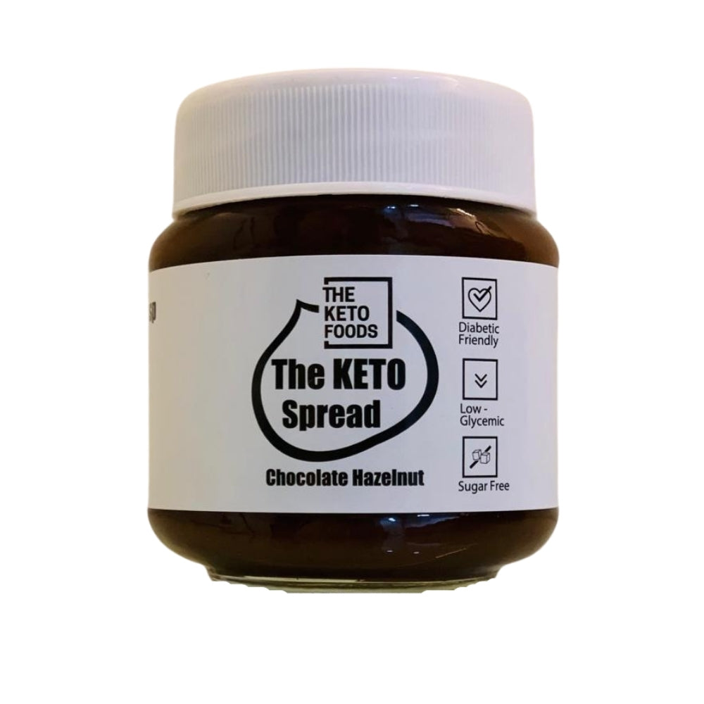 The Keto Foods Keto Spread - Chocolate Hazelnut