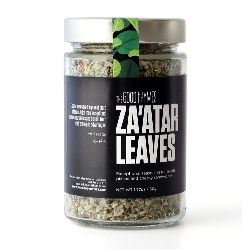The Good Thymes Zaatar Leaves