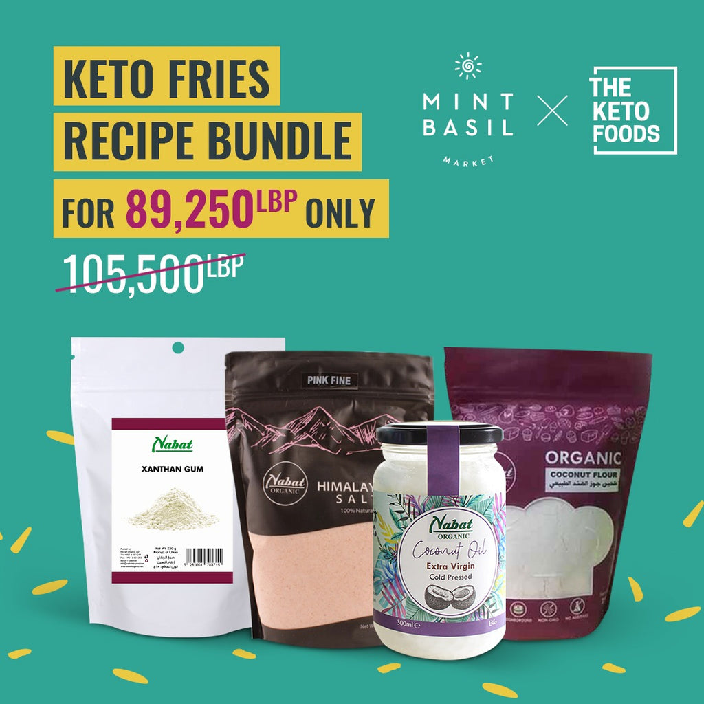 Keto Fries Recipe Bundle