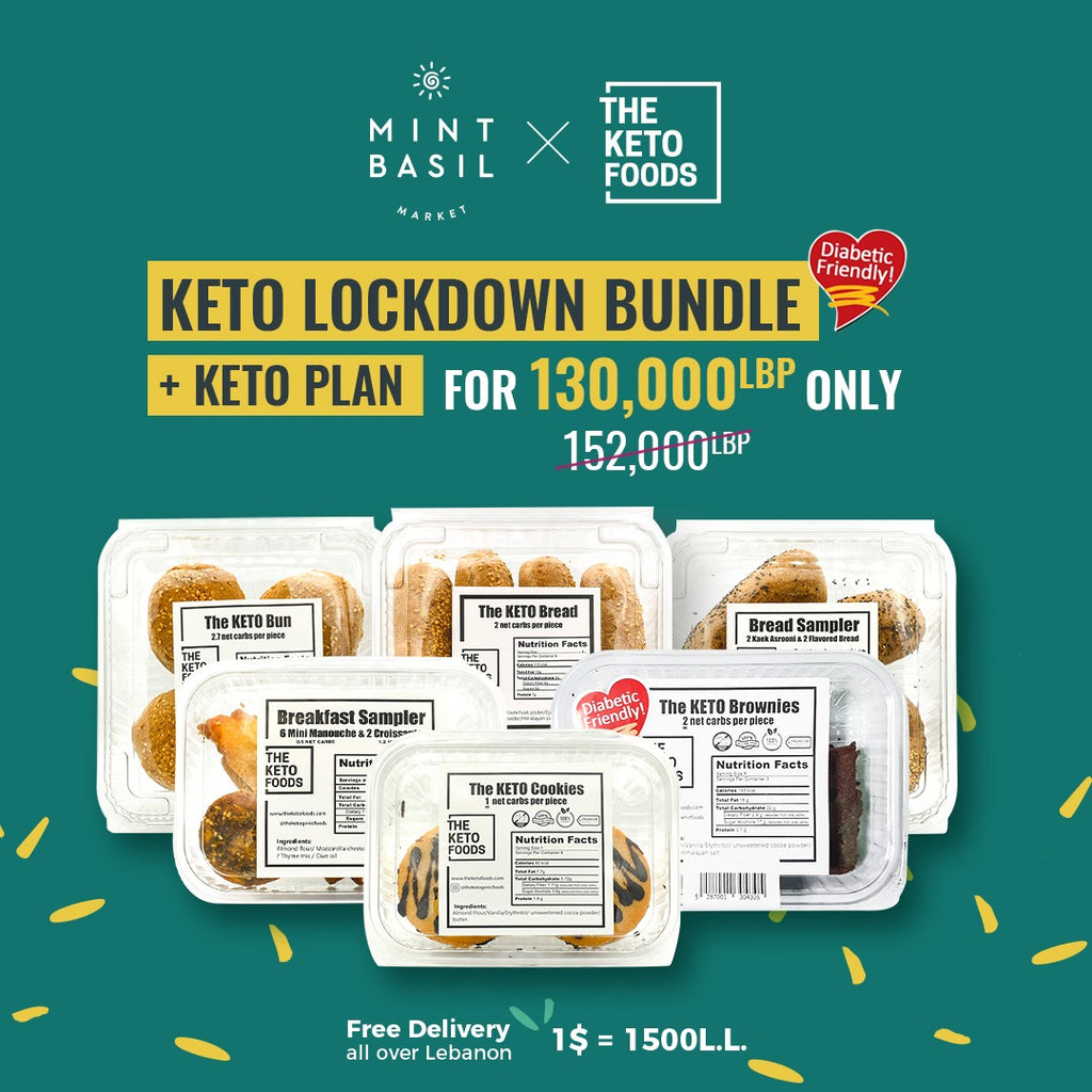 The Keto Foods Keto Lockdown Bundle + Keto Plan