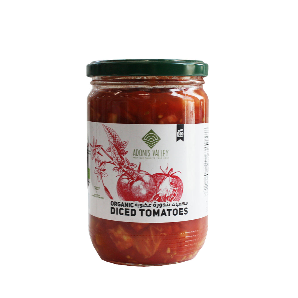 Adonis Valley Organic Diced Tomatoes (617313108031)