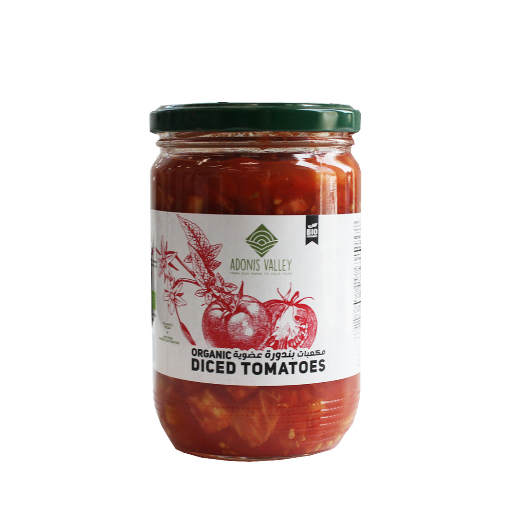 Adonis Valley Organic Diced Tomatoes