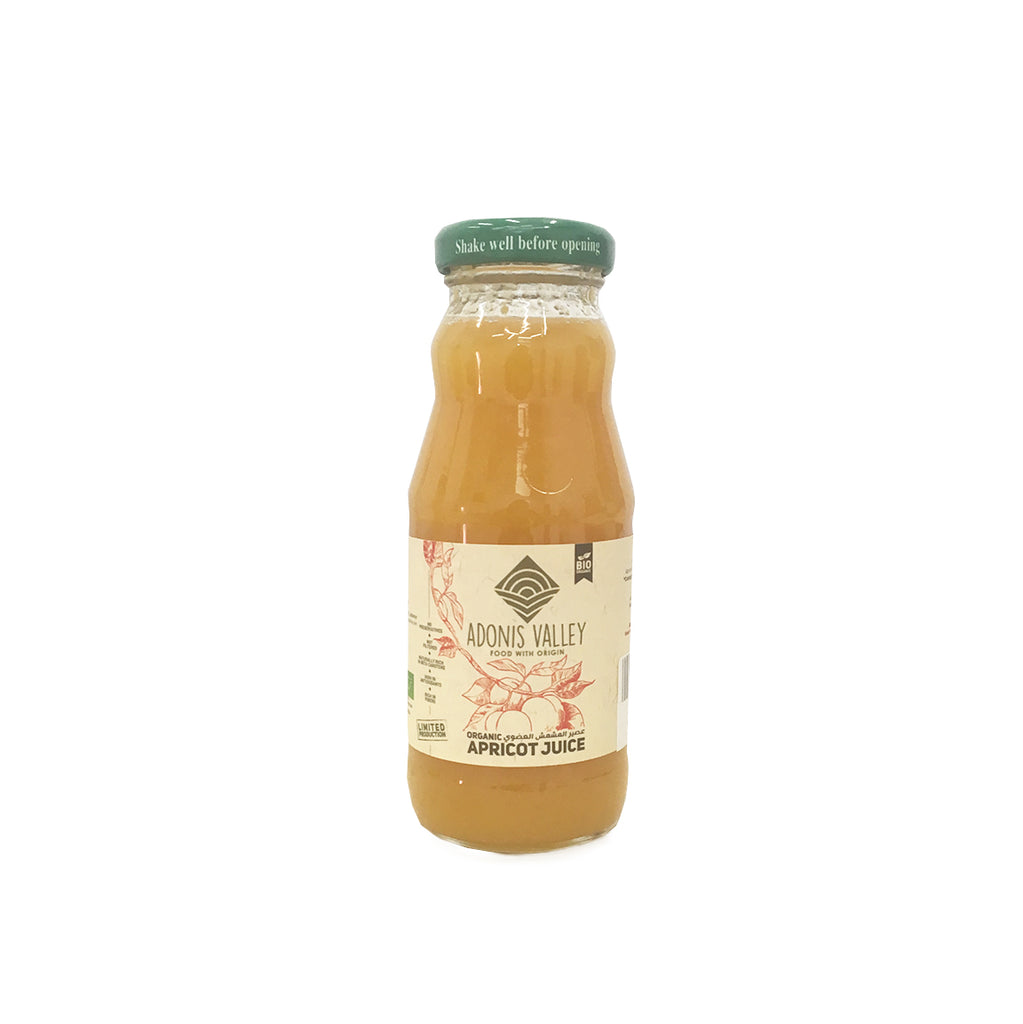 Adonis Valley Organic Apricot Juice