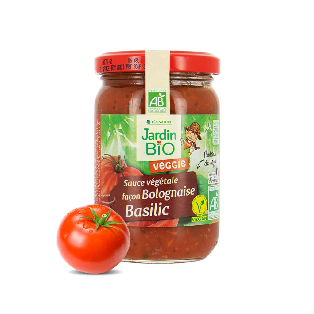 Jardin Bio Tomato Basil Sauce with Soy Proteins (1947128332351)