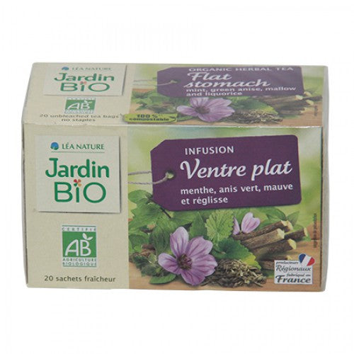Jardin Bio Organic Herbal Tea Flat Stomach