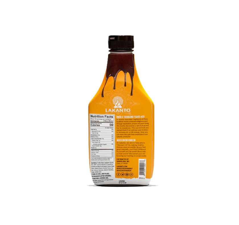 Lakanto Chocolate Syrup from Monk Fruit Sweetener