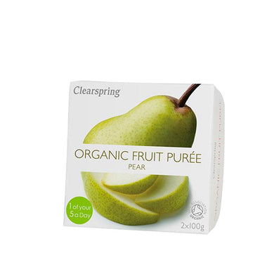 Clearspring Organic Fruit Puree - Pear