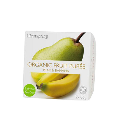 Clearspring Organic Fruit Puree - Pear & Banana